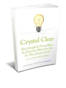 Crystal-Clear---Five-Ways-to-Articulate-What-You-Do-3D-JPG