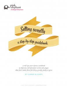 Selling Sweetly cover 231x300 nine thoughts on copywriting for hippies