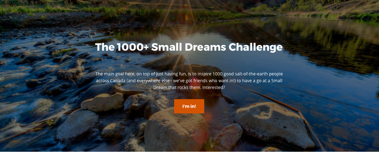 1000 small dreams